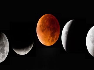 وقوع ماه گرفتگی در آسمان ۱۰ آذر