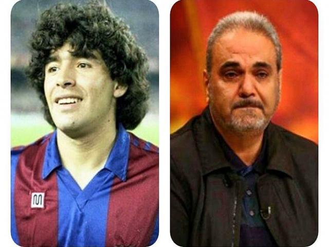 یادداشت احساسی جواد خیابانی برای مارادونا: بهت گفتم دیگو که من هیچوقت استعدادی در فوتبال نداشتم