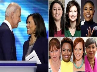 اولین تیم ارتباطاتی ارشد کاخ سفید متشکل از زنان، توسط جو بایدن