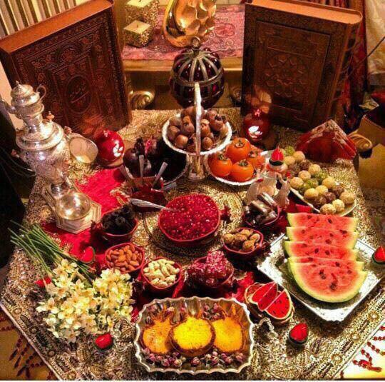 تزئینات شب یلدا