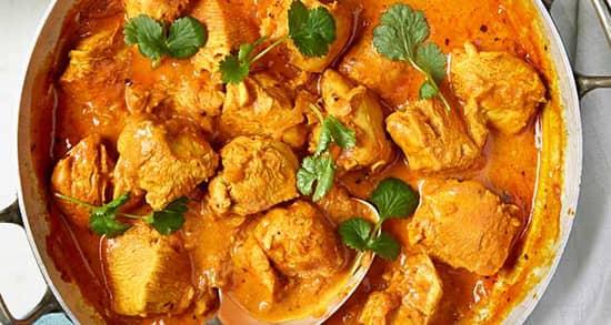 خورش مرغ هندی