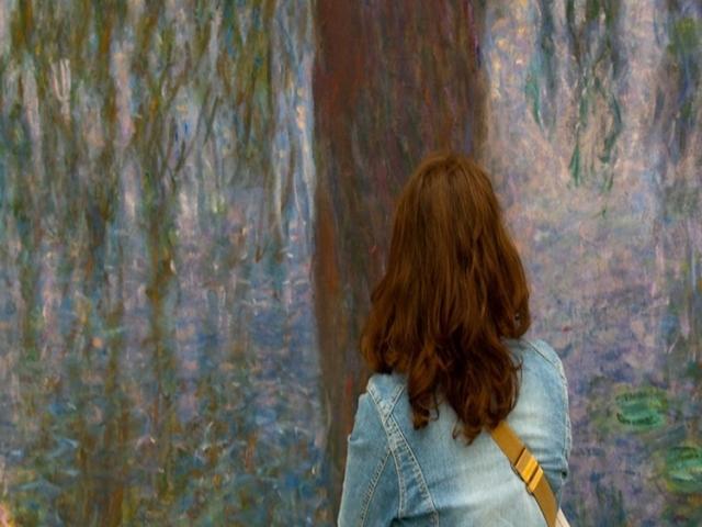 نقد فیلم نیلوفرهای آبی اثر مونه - جادوی آب و نور : امپرسیونیسم ، جنگ و نقاشی