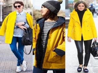 مدل لباس رنگ سال 2021 برای خانم ها (زرد و خاکستری) + عکس
