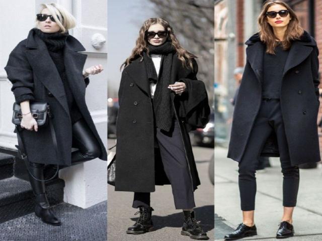 استایل مشکی ؛ رنگ مورد علاقه خانم ها در زمستان + عکس