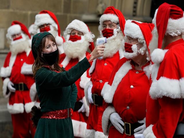 کریسمس و کرونا ؛ عکس های کریسمس در آستانه سال نو میلادی