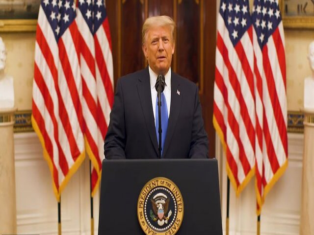 جزئیات سخنرانی خداحافظی دونالد ترامپ در کاخ سفید