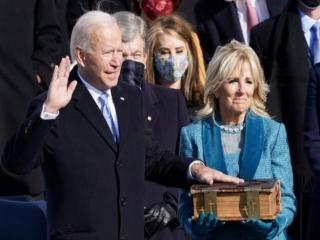 جو بایدن به عنوان چهل و ششمین رئیس جمهوری آمریکا سوگند خورد
