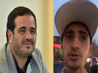 عذرخواهی عنابستانی از مردم ایران و مأمور راهور پلیس