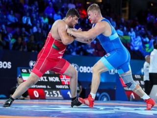 قطعی شدن قهرمانی روسیه و نایب قهرمانی ایران در کشتی فرنگی قهرمانی جهان