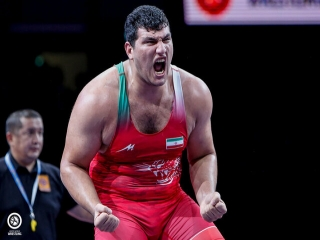 شب طلایی ایران در رقابت های کشتی فرنگی قهرمانی جهان