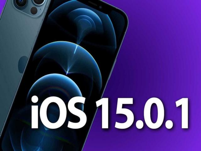 اپل آپدیت آی او اس 15.0.1 و آیپد او اس 15.0.1 را منتشر کرد