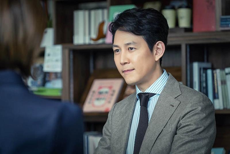 لی جونگ جه در جوانی