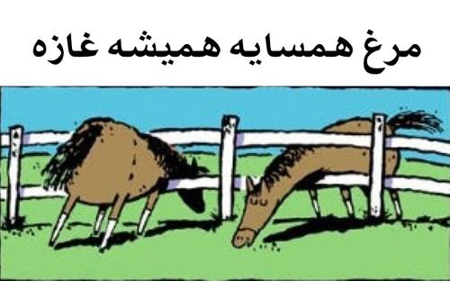 ضرب المثل ایرانی