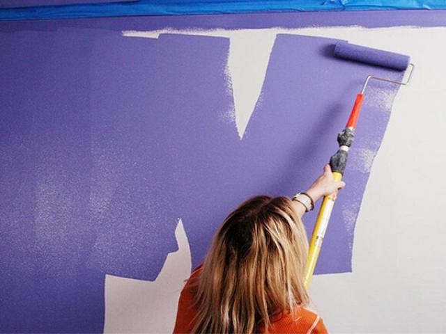 ترفندهای رنگ کردن دیوار برای عید نوروز به روش حرفهایها