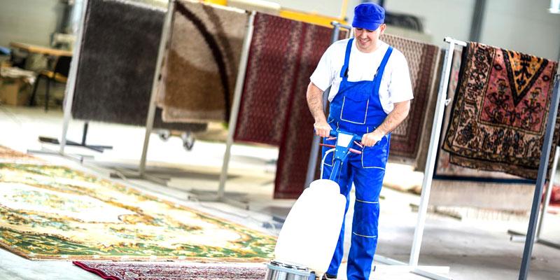 خدمات و امکانات قالیشویی