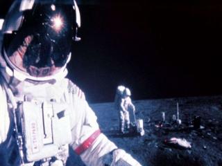توپ گمشدهی گلف در ماه پیدا شد + عکس