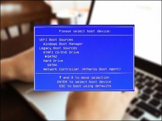 کلید بوت منو و بایوس در سیستم های مختلف