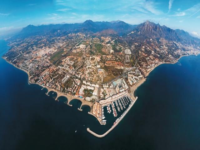 ماربیا، شهر ساحلی زیبا در اسپانیا