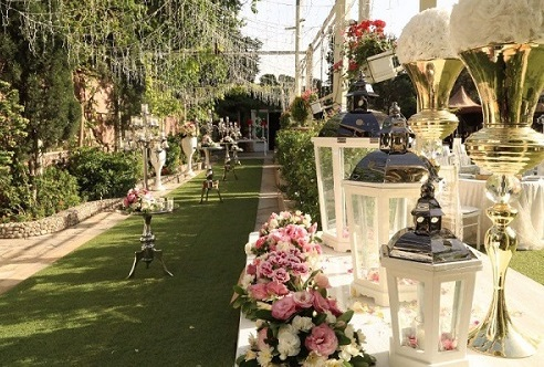 انتخاب باغ شیک عروسی