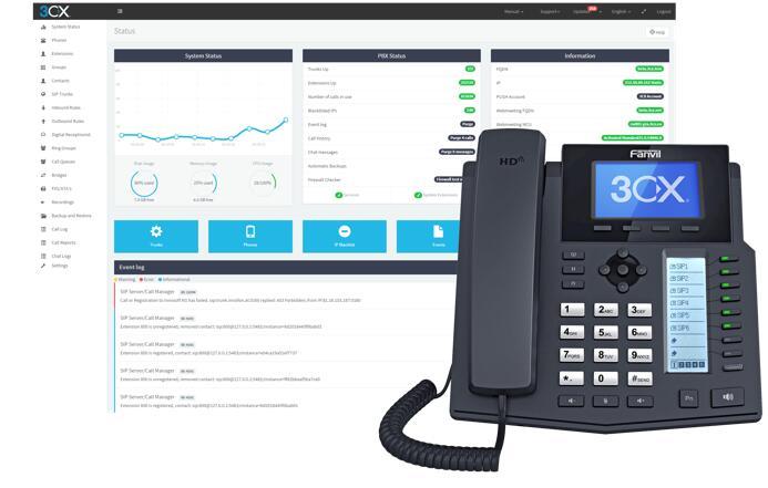 سیستم تلفنی سانترال