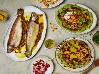 ماهی قزل آلای شکم پُر ؛ مخصوص عید نوروز