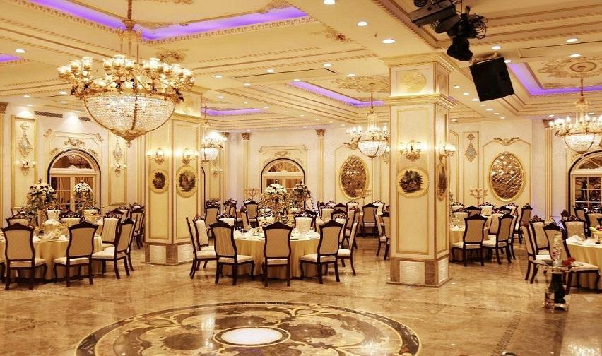 ظرفیت سالن عروسی