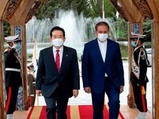 گلایه های جهانگیری از دولت کره با ورود نخست وزیر این کشور به تهران