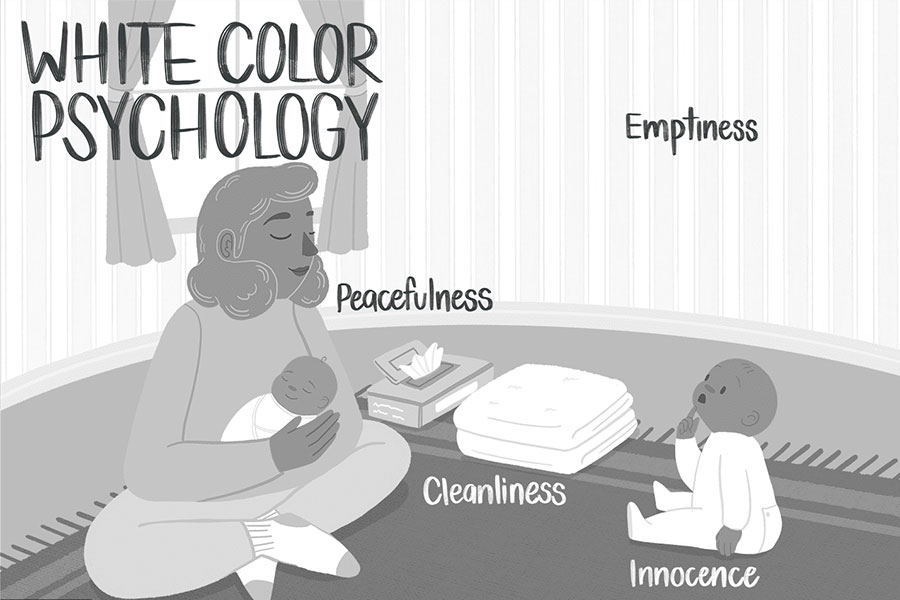 معنی رنگ سفید