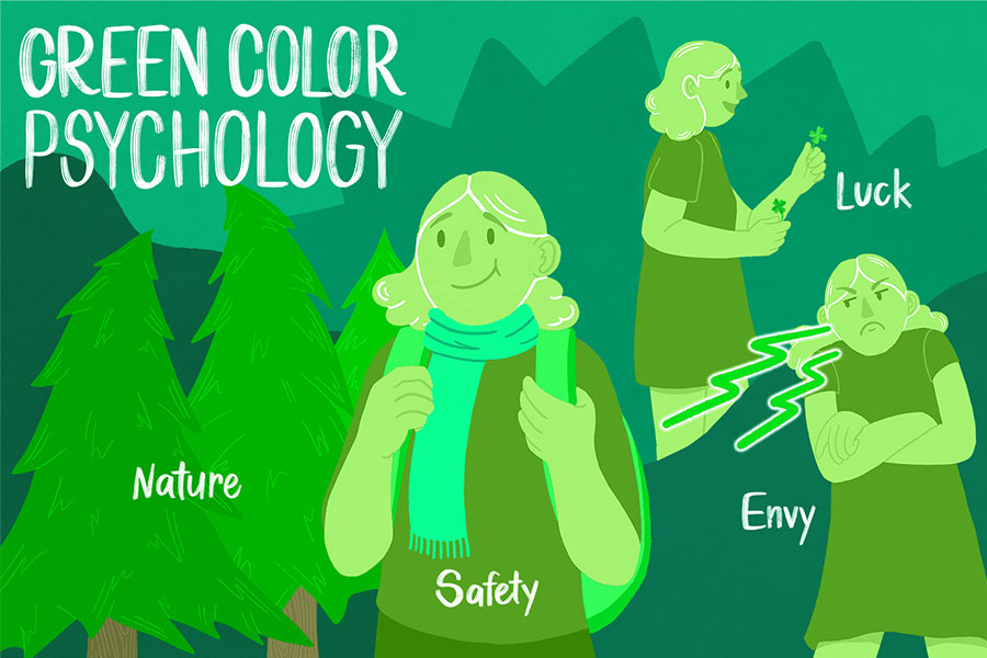 معنی رنگ سبز
