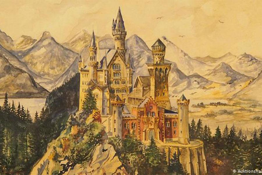 نقاشی هیتلر