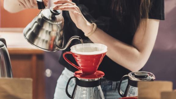 تهیه قهوه با موکاپات