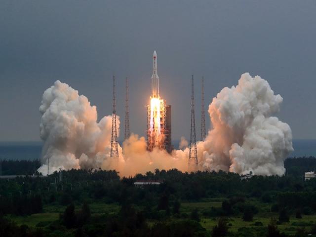 باز هم موفقیت چین در پرتاب موشک به مدار زمین