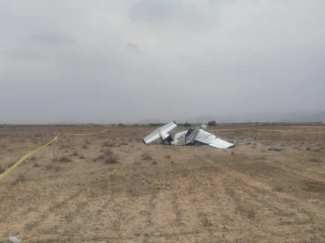 سقوط یک فروند هواپیمای فوق سبک آموزشی در اراک
