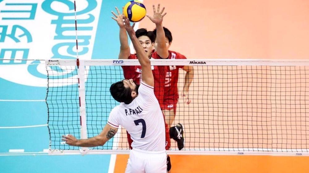 Iran men's national volleyball team vs Japan men's national volleyball team