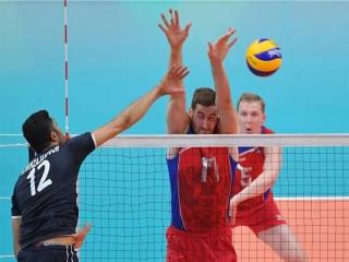 همه رقابتهای ایران و روسیه در تورنمنت های والیبال