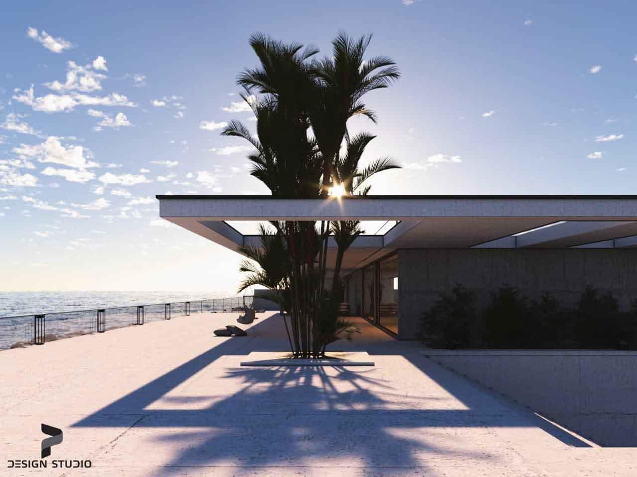 طراحی فول پکیج ویلای دوبلکس به سبک معماری مدرن واقع در اِزمیر ترکیه...