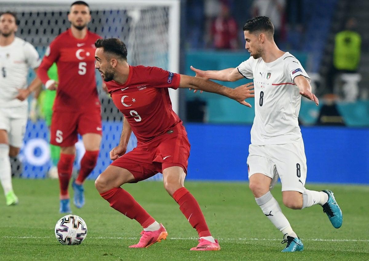 بازی افتتاحیه یورو 2020 : ترکیه 0 - ایتالیا 3