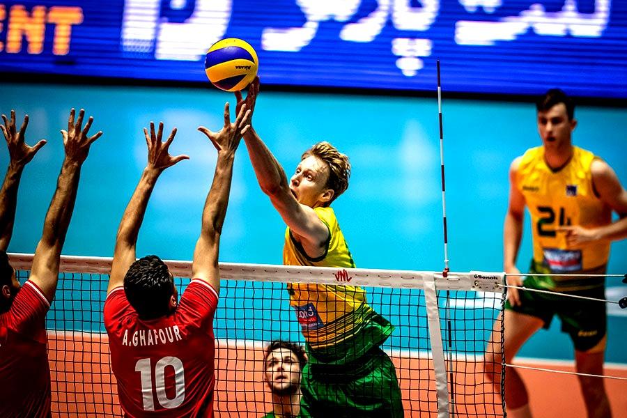 همه رقابتهای والیبال ایران و استرالیا