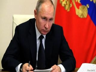 پوتین انتخاب رئیسی به عنوان رئیس جمهور ایران را تبریک گفت