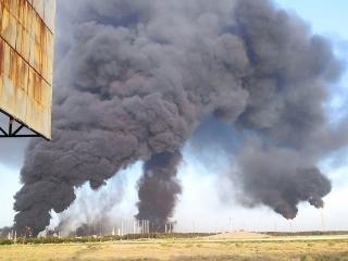 اعزام تیمهای ارزیاب در پی آتش سوزی در پالایشگاه تهران