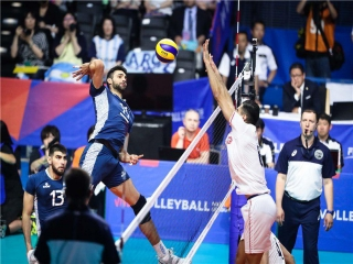در انتظار نتیجه (3-2) در مسابقه والیبال ایران و آرژانتین!