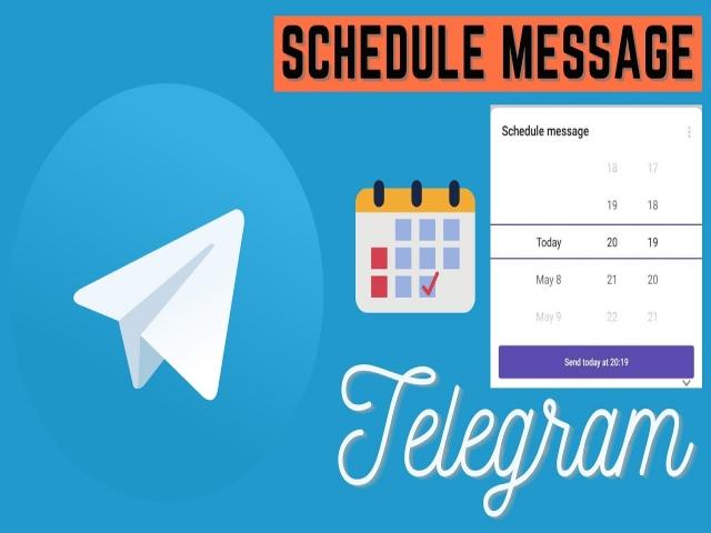ارسال پیام زمانبندی شده (Schedule Message) در تلگرام