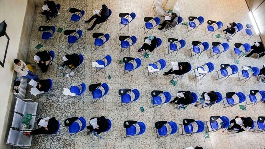 ابتلای 128 داوطلب کنکور امسال به کرونا