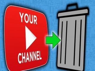 آموزش تصویری حذف کانال یوتیوب