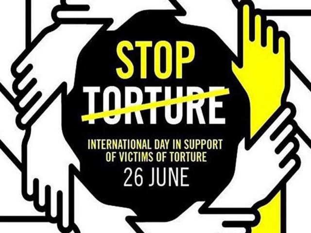 26 ژوئن ، روز بین المللی سازمان ملل متحد در حمایت از قربانیان شکنجه