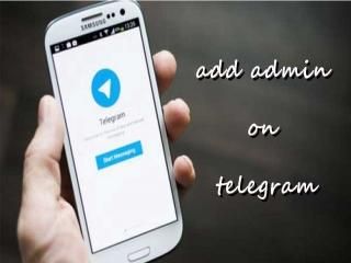 آموزش تصویری اضافه کردن ادمین به کانال تلگرام