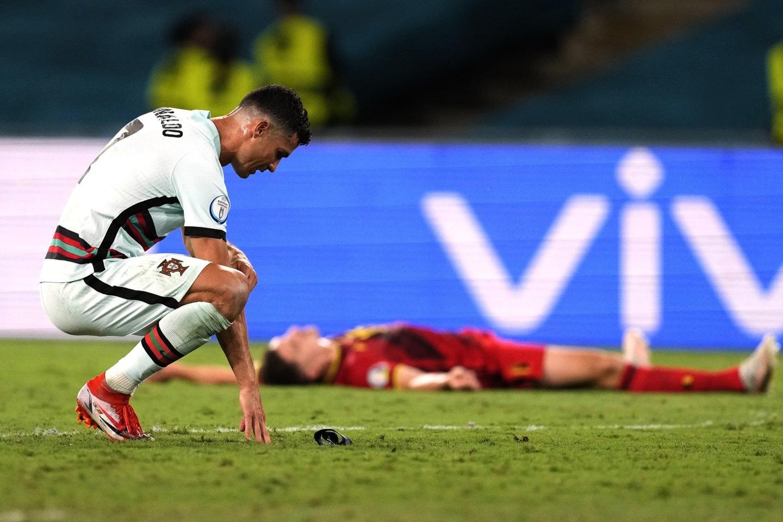 رونالدو حذف پرتغال را جنجالیتر کرد!
