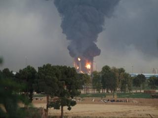 آخرین جزئیات آتش سوزی در پالایشگاه نفت جنوب تهران