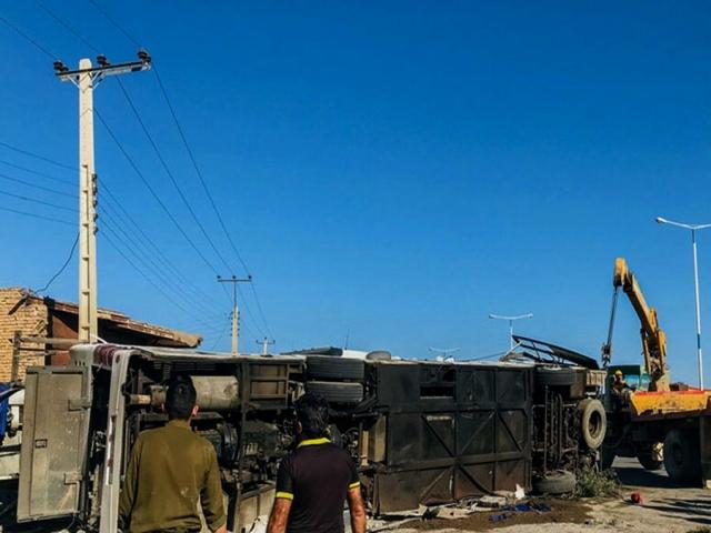 فوت 7 نفر در تصادف سربازمعلمها تکذیب شد