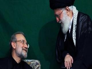 نامه قدردانی علی لاریجانی خطاب به رهبر انقلاب